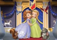 Sofia the First 20 Piece Jigsaw Puzzle - Step Sisters Design
